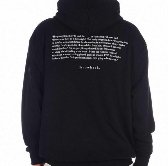 Throwback TBS-LAX Hoodie Black