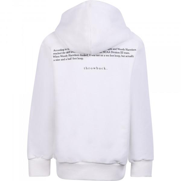Throwback TBS-Jump Hoodie White