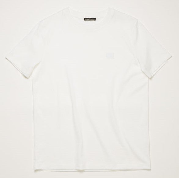Ellison Face Slim Fit T-shirt - Optic White | Acne Studios
