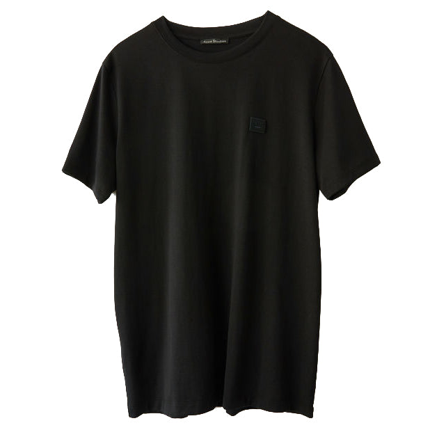 Ellison Face Regular Fit T-shirt - Black | Acne Studios