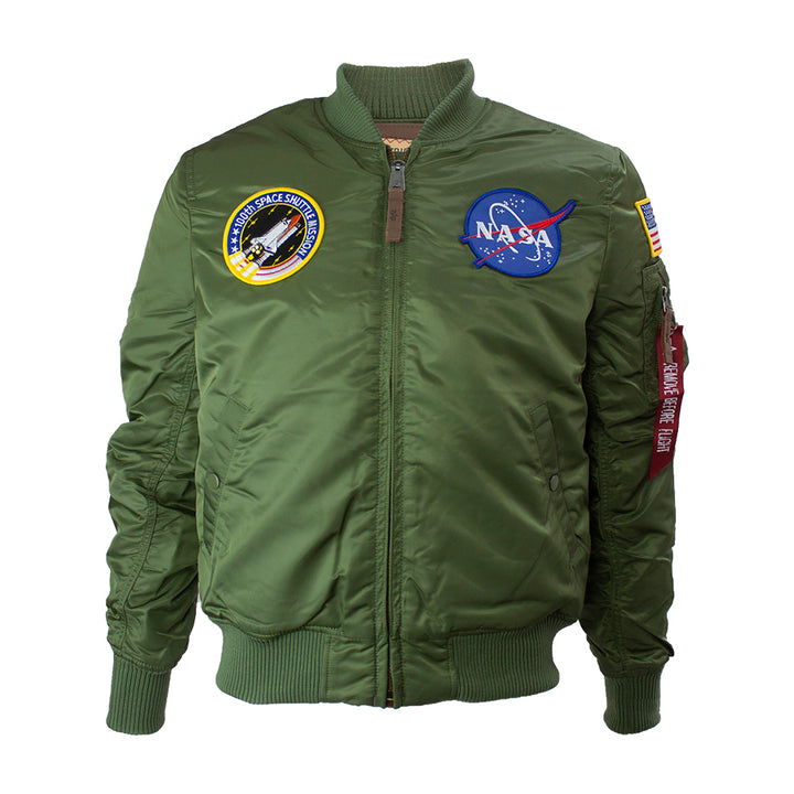 Alpha Industries NASA MA-1 Flight Jacket Sage Green