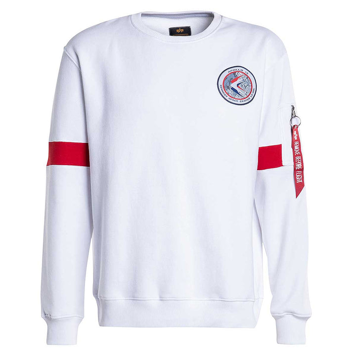 Apollo 15 Sweater - White | Alpha Industries