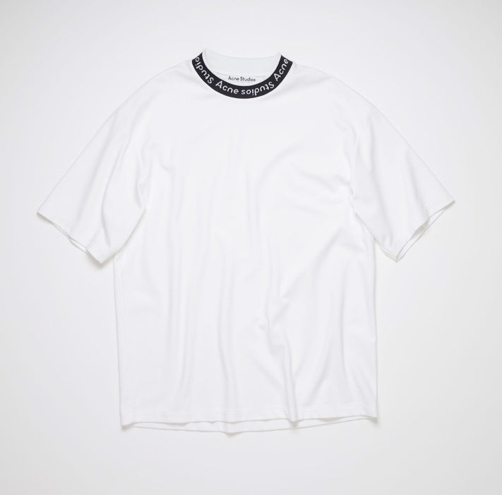 Acne Studios Logo binding t-shirt white