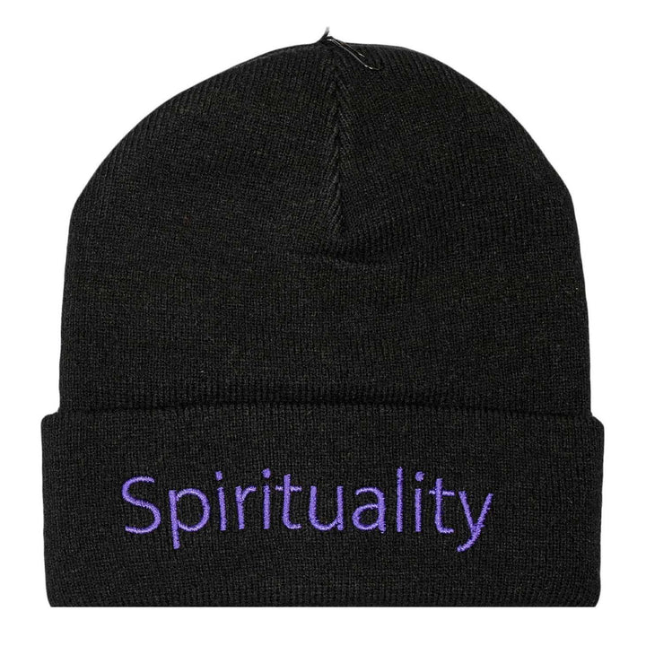Spirituality Beanie - Black | The United Standard