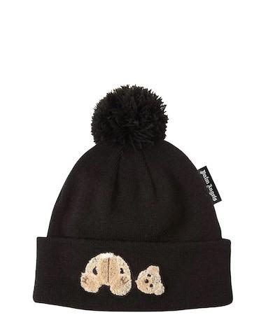 Palm Angels Bear Beanie Black / Brown