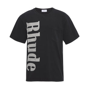Pocket Tee - Black | RHUDE