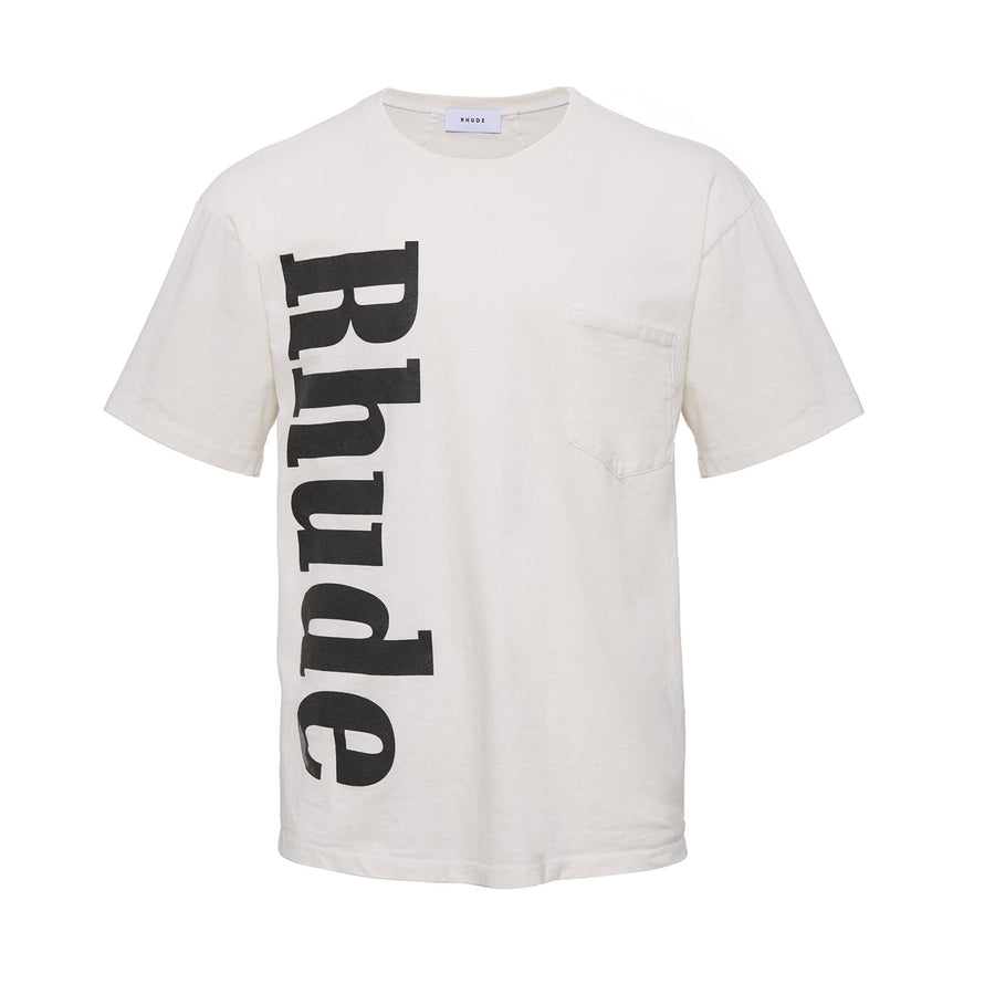 Pocket Tee - White | RHUDE