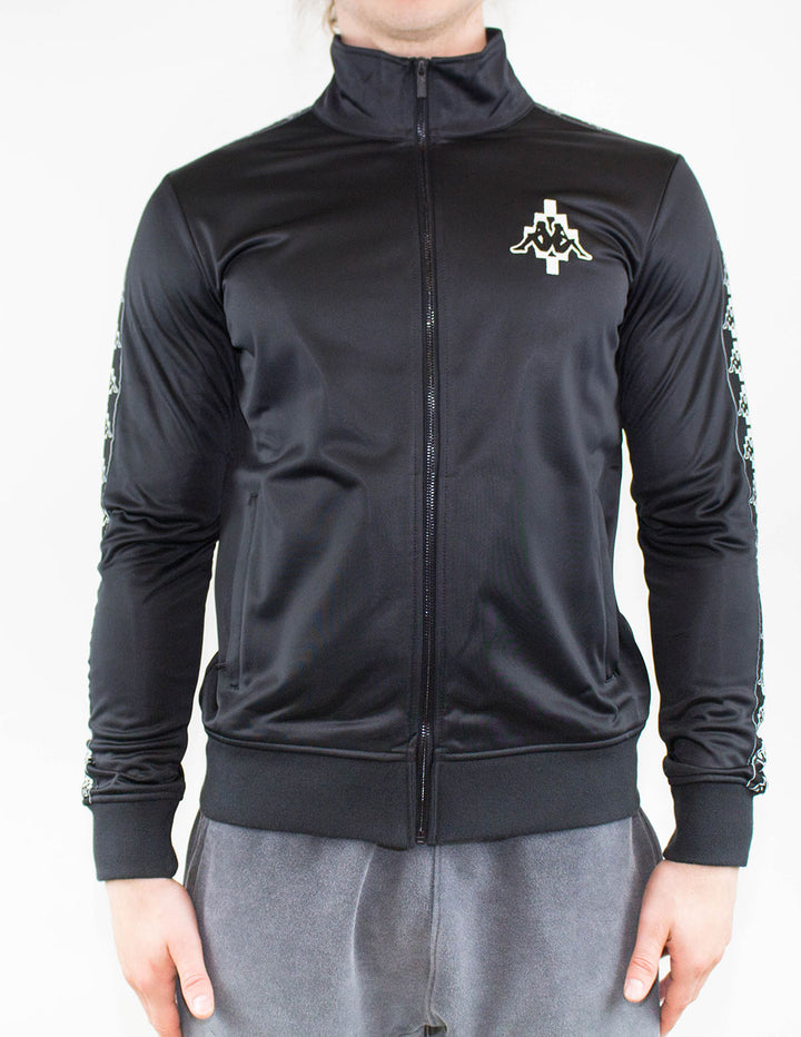 Marcelo Burlon X Kappa Track Top Black/White
