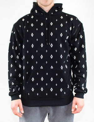 Marcelo Burlon County Of Milan - Black Logo Printed Hooded