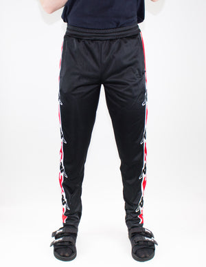 Marcelo Burlon X Kappa Joggers Red/Black