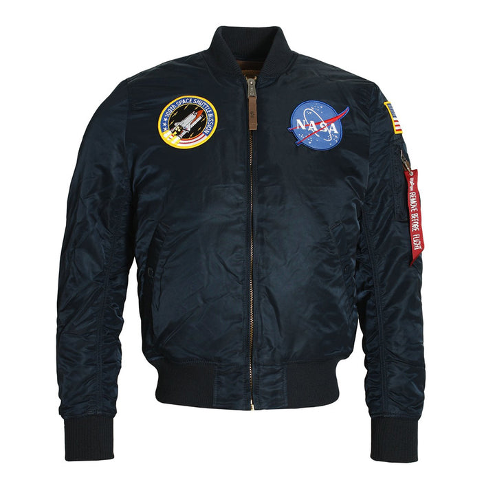 NASA MA-1 Flight Jacket - Navy | Alpha Industries