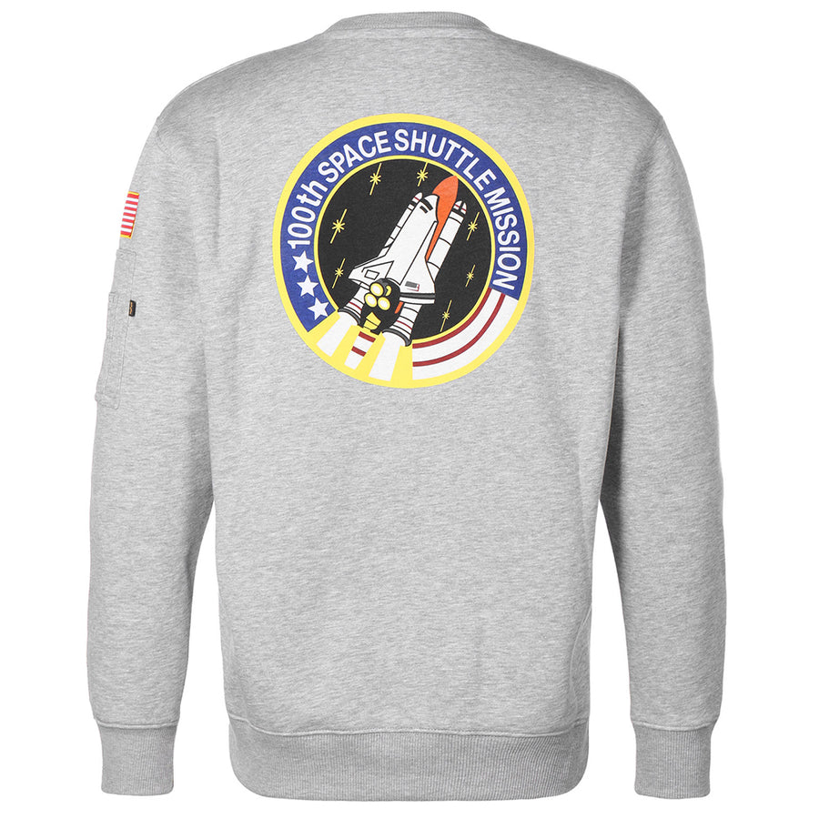 Alpha Industries Space Shuttle Sweatshirt Grey