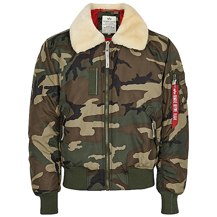 B15 3TT Jacket - Olive Camo | Alpha Industries