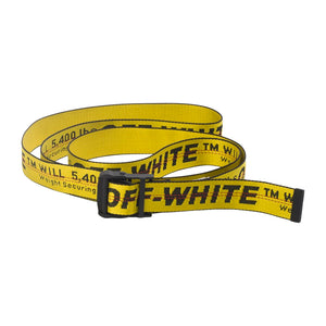 Industrial Belt - Yellow | Off-White
