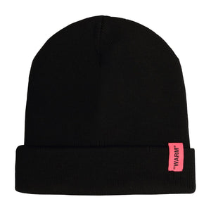 Patch Beanie - Black | Off-White