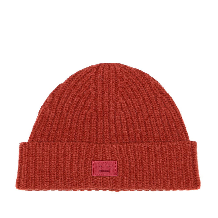 Acne Studios Kansy Beanie Brick Red
