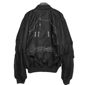 Ghost House Bomber - Black | Marcelo Burlon