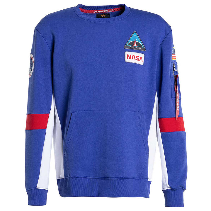 Space Camp Sweater - Nautical Blue | Alpha Industries
