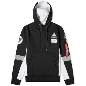 Space Camp Hoody - Black | Alpha Industries