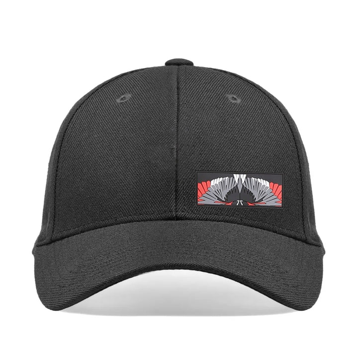 Marcelo Burlon Patch Wings Cap Black Multicolour