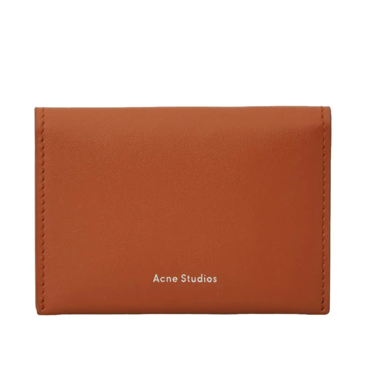 Card Holder Flap - Brown | Acne Studios