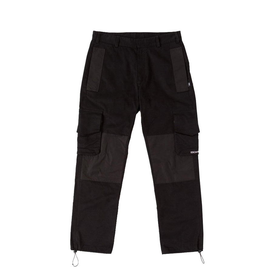 Dame Label Cargo Pants - Black | Marcelo Burlon