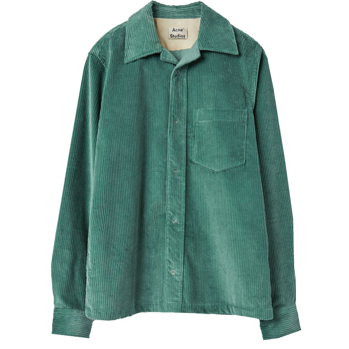 Denver New Cord Shirt - Dusty Green | Acne Studios