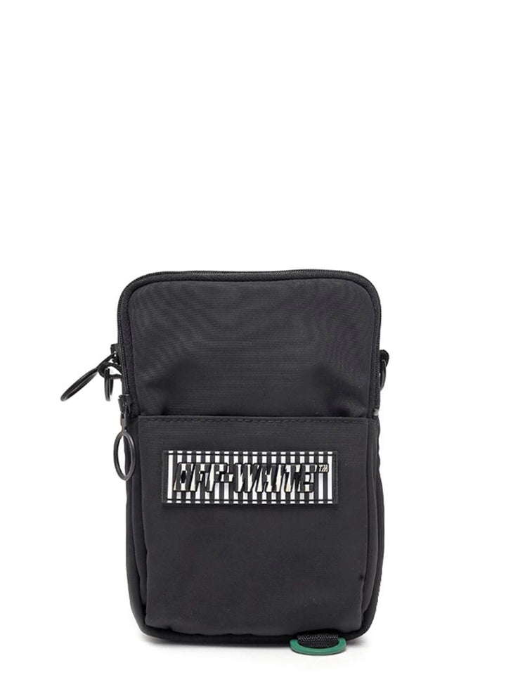 Rubber Patch Hip Bag - Black | Off-White
