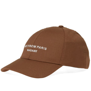 Not From Paris Baseball Cap - Brown | Drôle De Monsieur