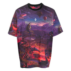 Marcelo Burlon All Over Fantasy T-shirt Multicolour