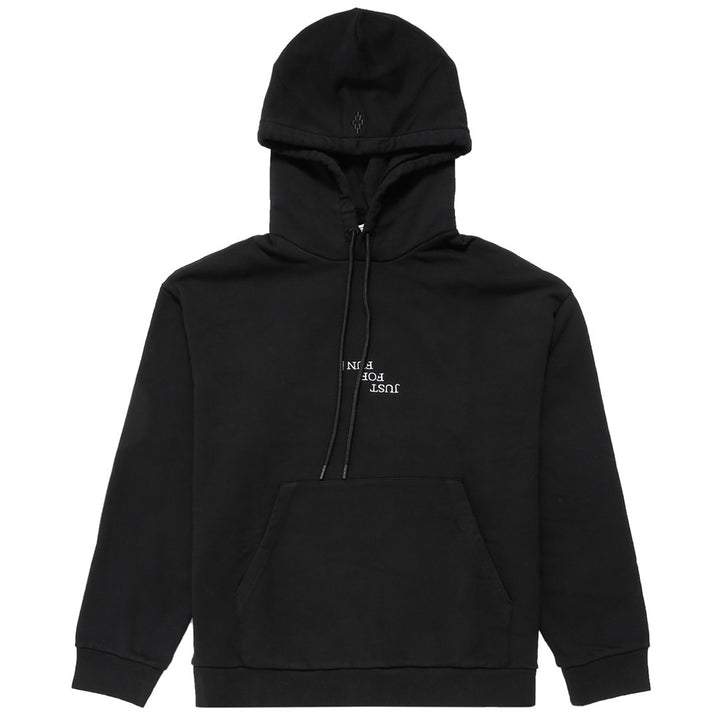 Ghost House Over Hoodie - Black | Marcelo Burlon