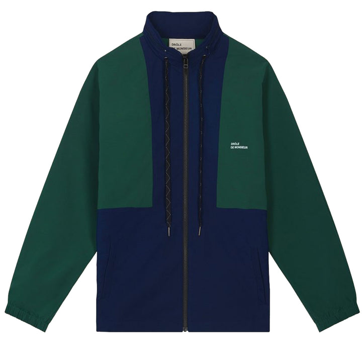 NFPM Windbreaker Jacket - Green | Drôle De Monsieur
