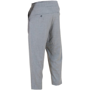 Cropped Wool Pants - Grey | Drôle De Monsieur
