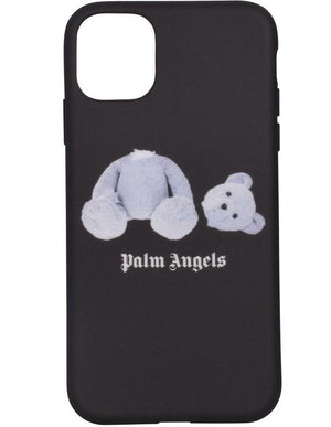 Palm Angels Ice Bear IPhone Case 11 Black / White