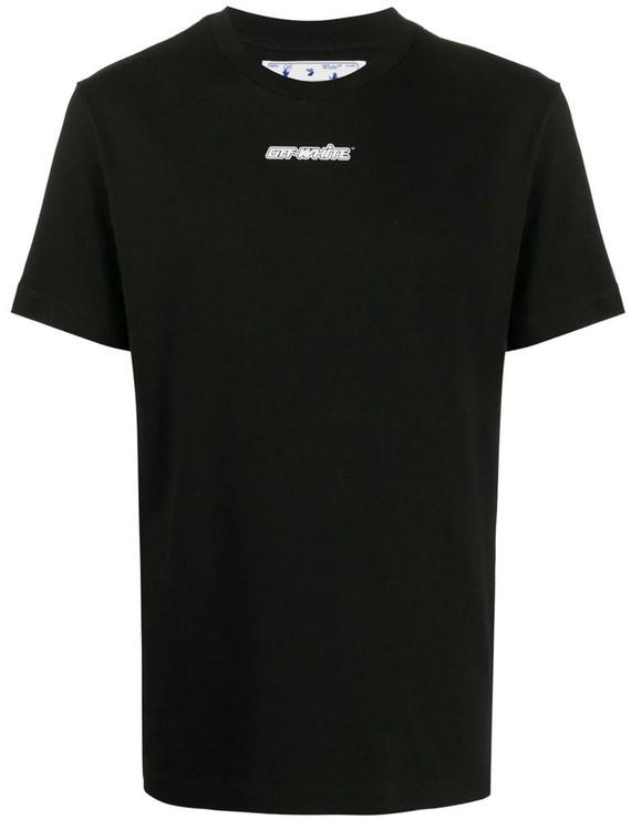 Off-White Marker S/S Over Tee Black / Red