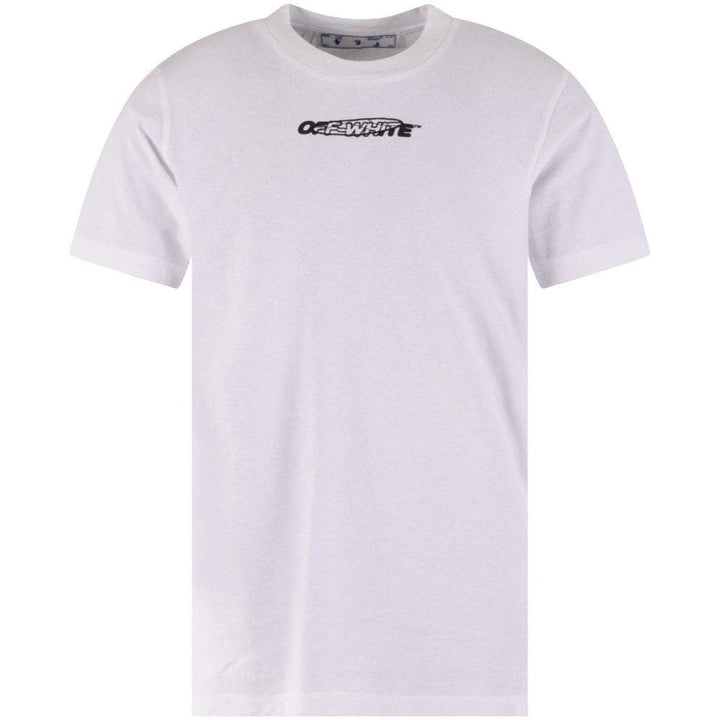 Off-White Hand Painters S/S Over Tee White / Black