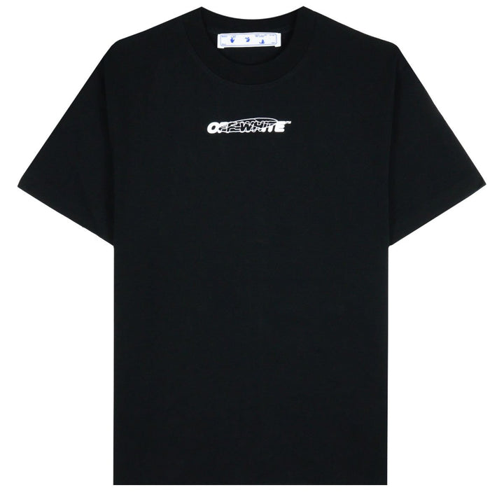 Off-White Hand Painters S/S Over Tee Black / White