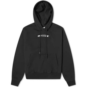 Off-White Hand Painters Hoodie Black / White