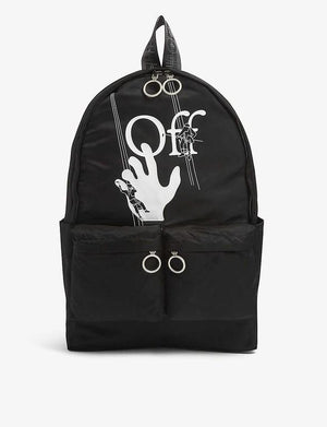 Off-White Hand Painters Backpack Black / White