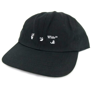 Off-White Logo Baseball Cap Black / White