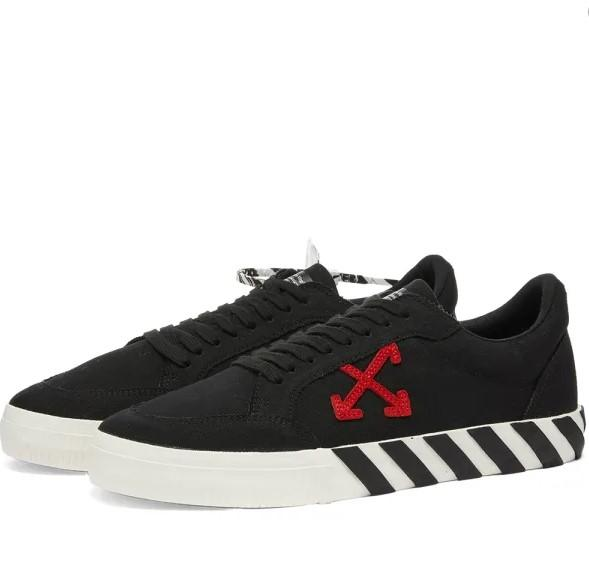 Off-White Low Vulcanized Black / Red