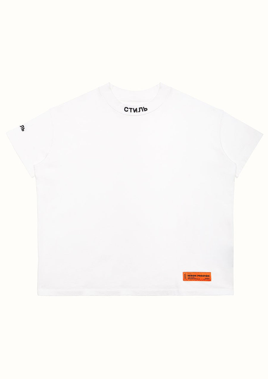 CTNMB Turtleneck - White | Heron Preston