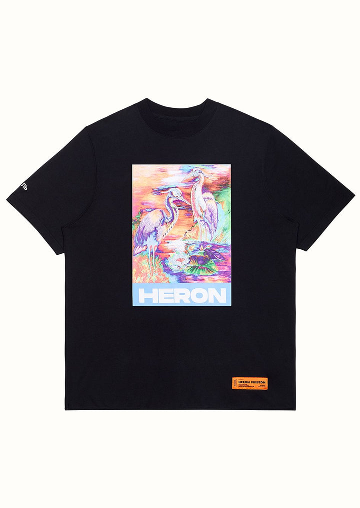Heron T-Shirt - Black | Heron Preston