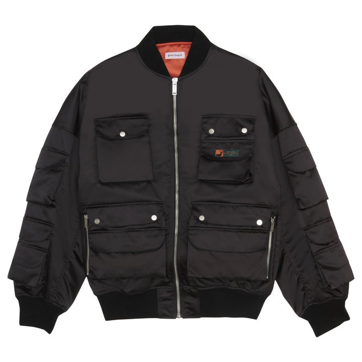 Hunting bomber jacket - Black | Palm Angels