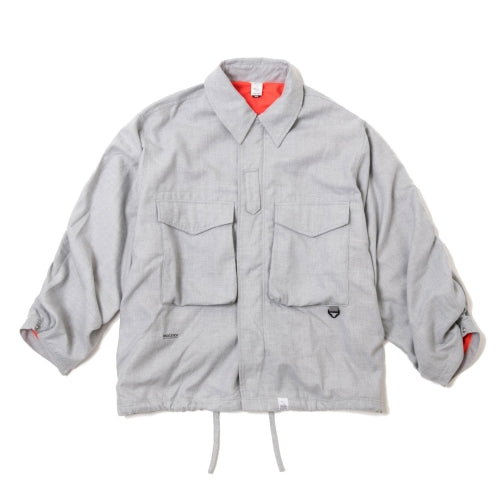 Cozy BDU Jacket - Grey | MAGIC STICK