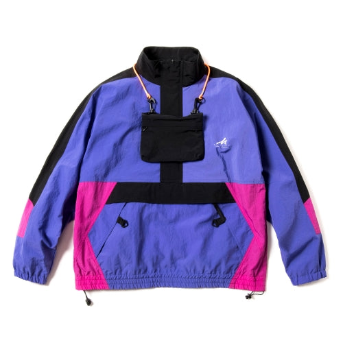 Classic Anorak Track Jacket - Purple | MAGIC STICK
