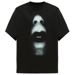 Mouth Over T-shirt - Black | Marcelo Burlon