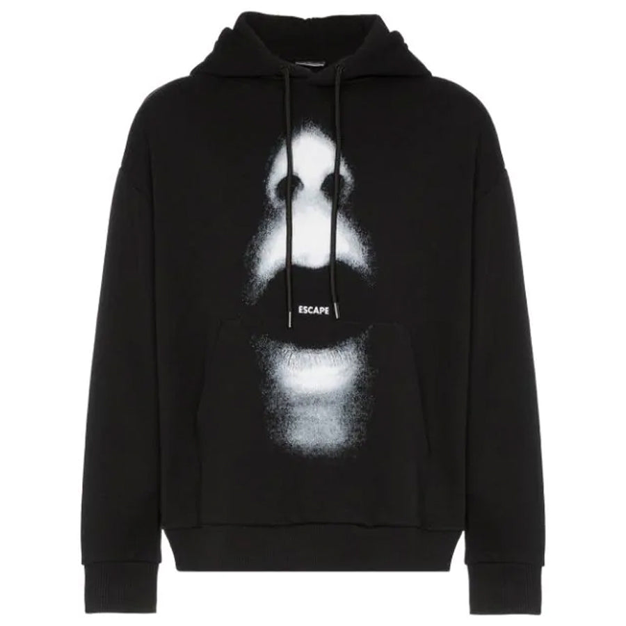 Marcelo Burlon Mouth Over Hoodie Black