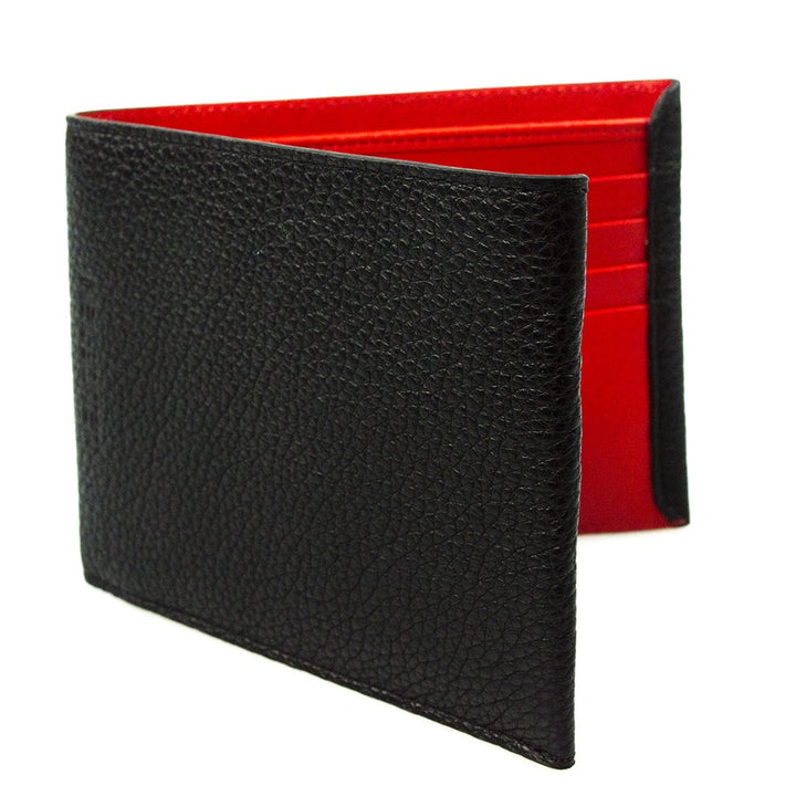 Neil Barrett Classic Leather Wallet Black
