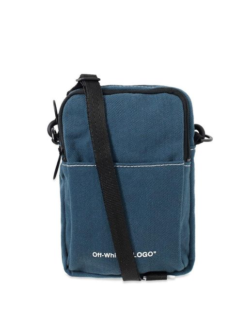 Denim Hip Bag - Blue | Off-White